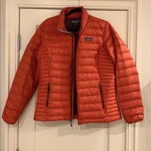 Women's Patagonia Red puffer jacket